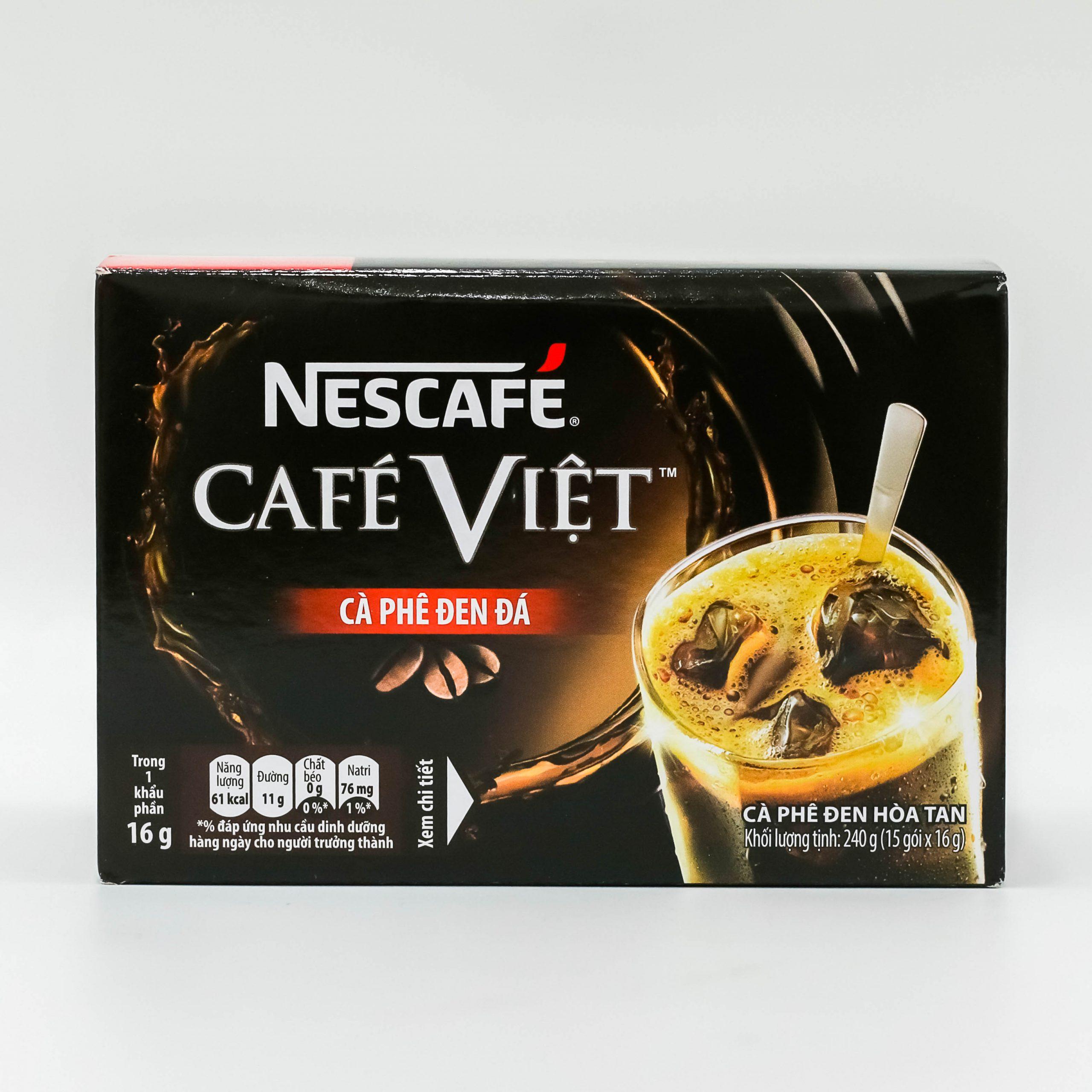 Cà Phê Việt Đen Đá Hộp 240gr