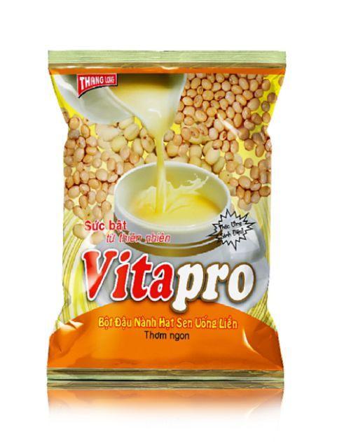 Bột Đậu Nành Hạt Sen Vitapro Gói 350gr