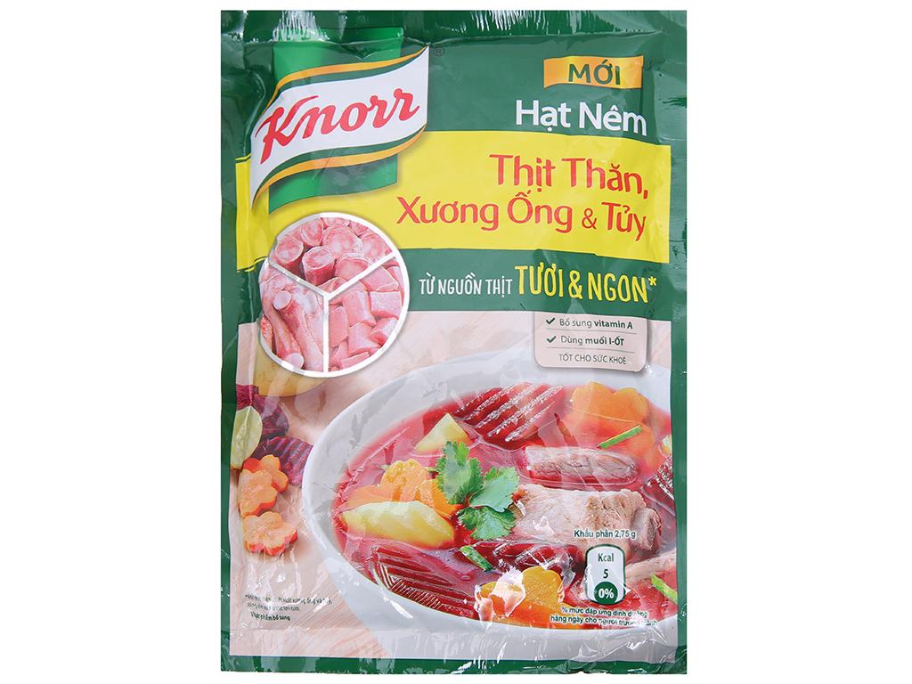 Hạt Nêm Knorr Thịt Thăn - Xương Ống & Tủy Gói 170gr