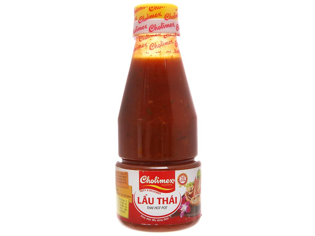 Xốt Lẩu Thái Cholimiex Chai 280gr
