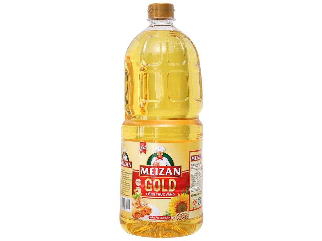 Dầu Ăn Meizan Gold Can 2 Lít