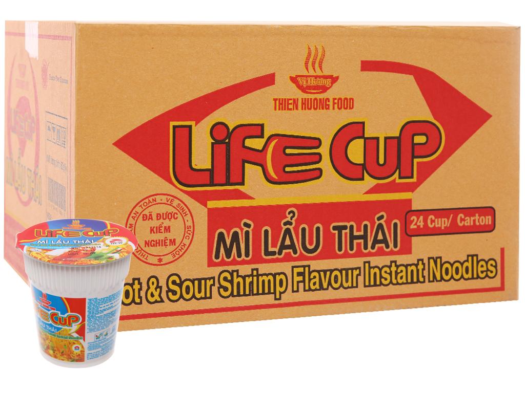 Mì Ly Lẩu Thái LifeCup Thiên Hương Food Ly 60gr