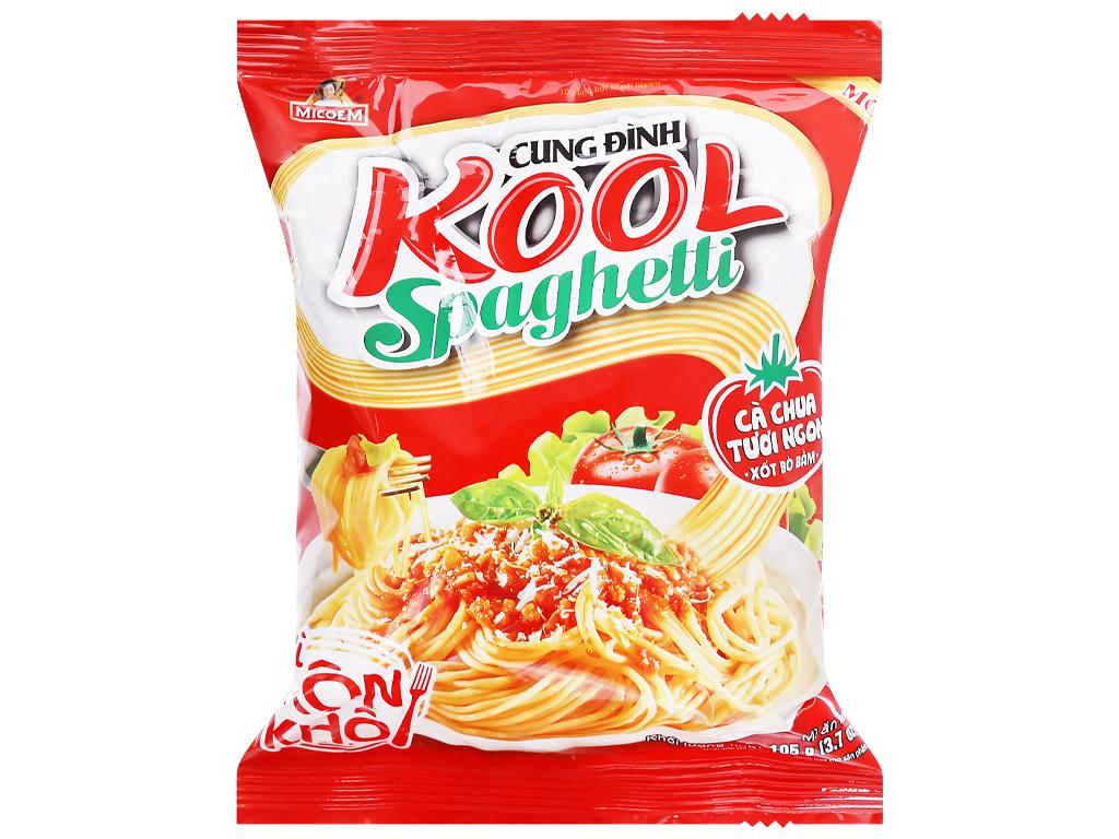 Mì Trộn Khô Kool Spaghetti Cung Đình Gói 105gr