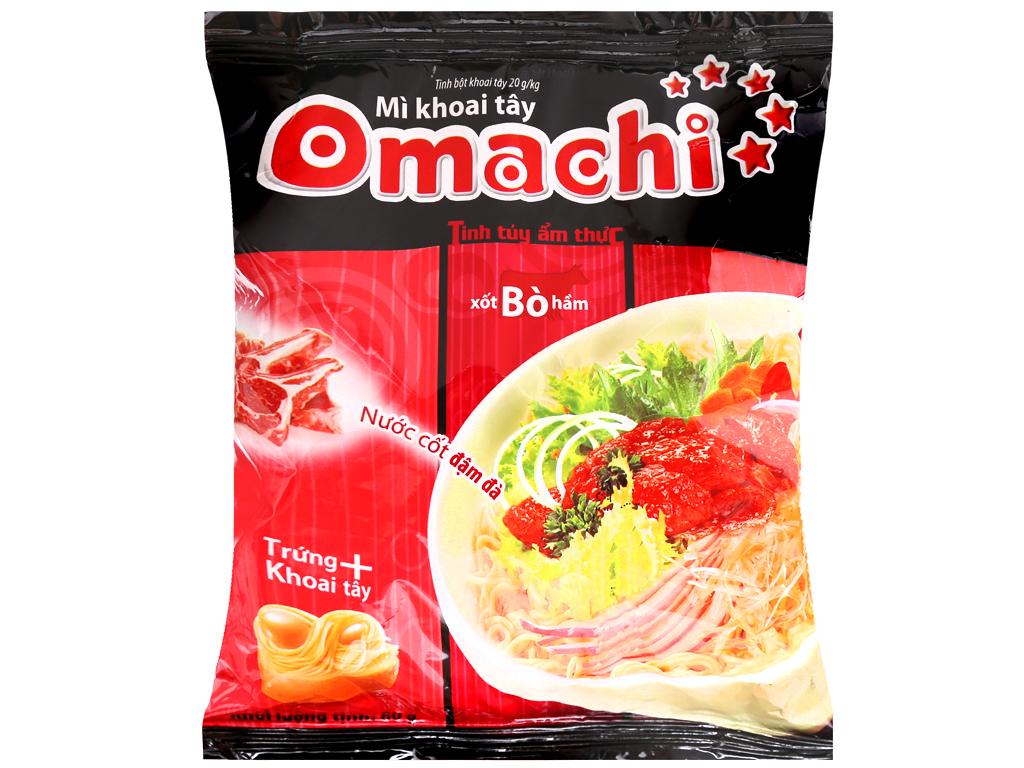 Mì Omachi Vị Xốt Bò Hầm 80gr/Gói