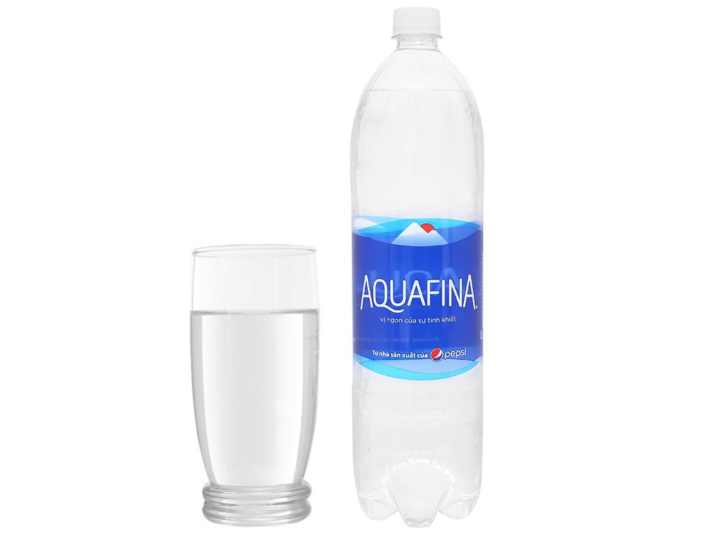 Nước Uống Đóng Chai  AquaFina Chai 1.5 Lít