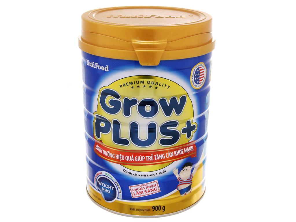 Sữa Bột Grow Plus+ Xanh Lon 900gr