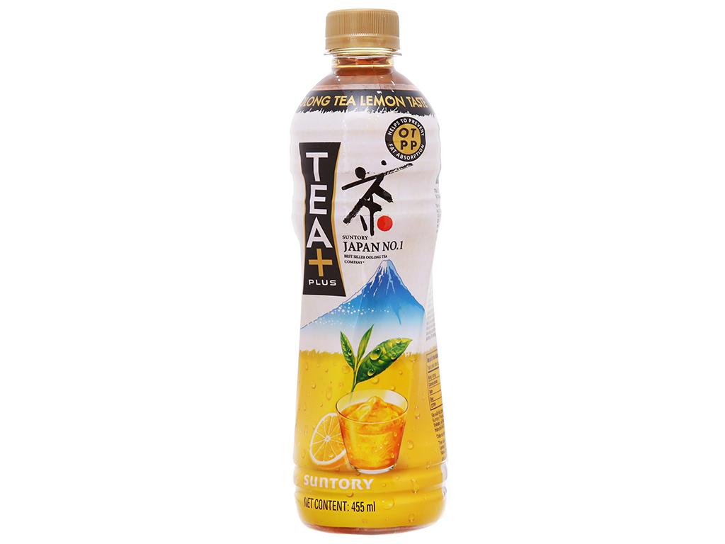 Nước Uống Ô Long Hương Chanh Chai 455ml