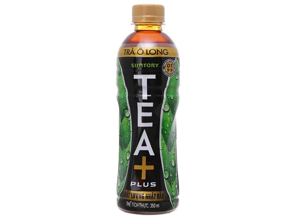Nước Uống Trà Ô Long Tea Plus Chai 350ml