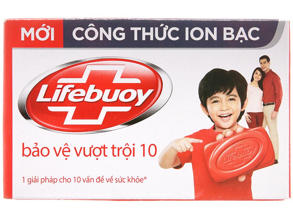 Xà Phòng Lifebuoy Ion Bạc Bảo Vệ Vượt Trội 10 90gr/Hộp
