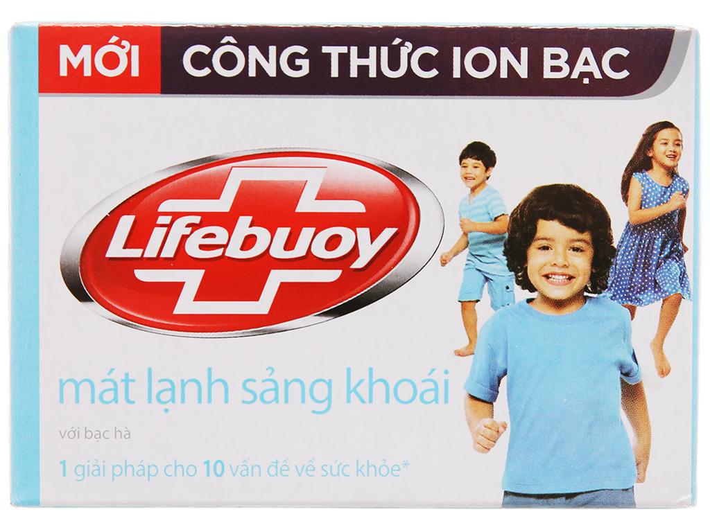 Xà Phòng Lifebuoy Mát Lạnh Sảng Khoái Hộp 90gr