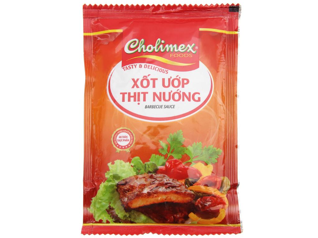 Xốt Ướp Thịt Nướng Cholimex 70gr/Gói
