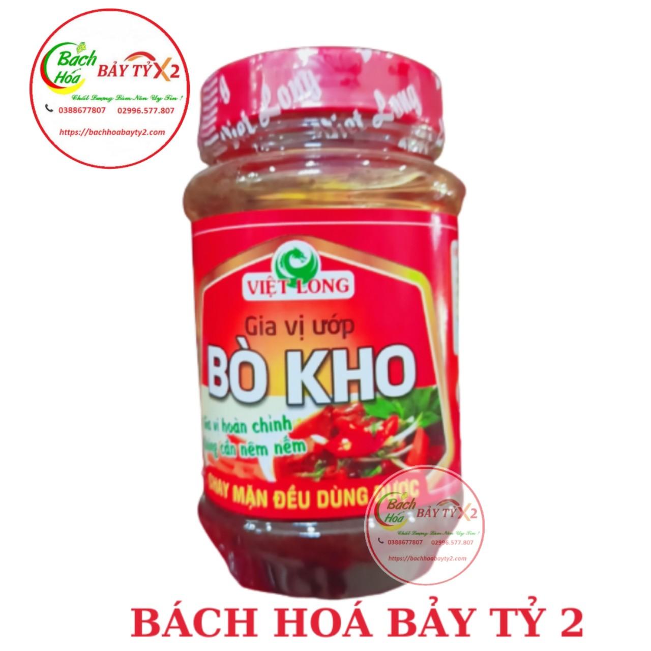 Gia Vị Ướp Bò Kho Việt Long Hủ 200gr