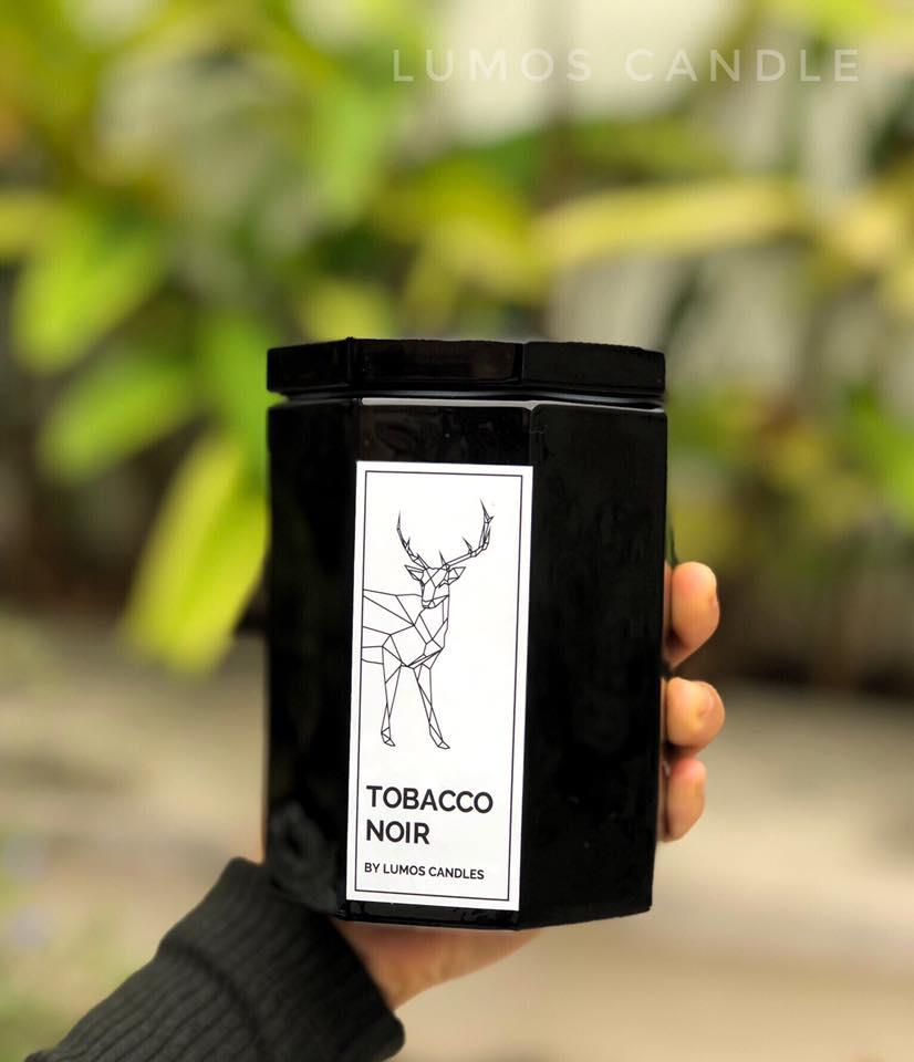 Nến thơm Tobacco noir (Lumos) - 12 oz (340g)