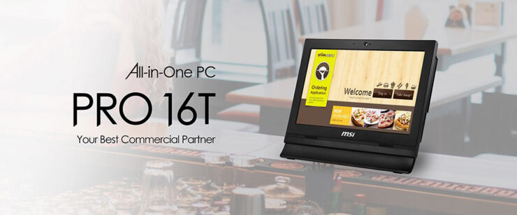 MSI All In One  Pro 16T 10M