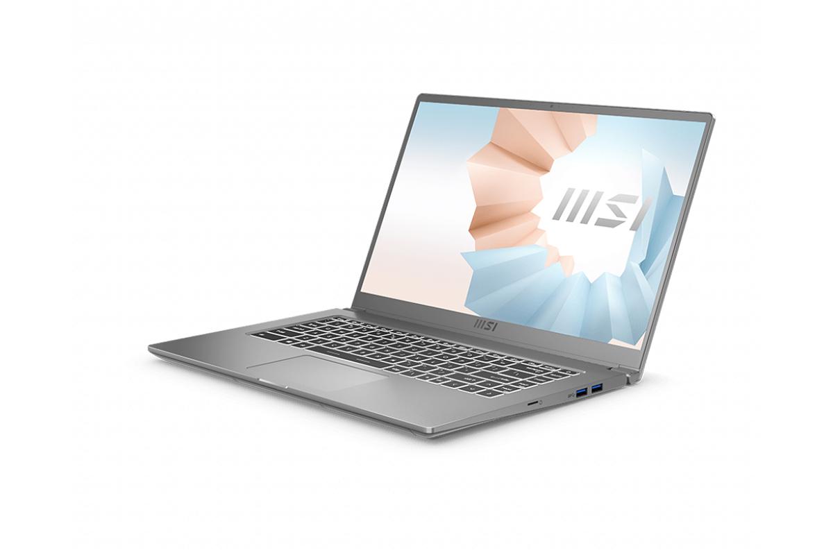 Laptop MSI Modern 15 A11M 099VN (Silver) | i5-1135G7 Gen 11th | 8GB DDR4 | SSD 512GB PCIe | VGA Onboard | 15.6 FHD IPS | Win10.