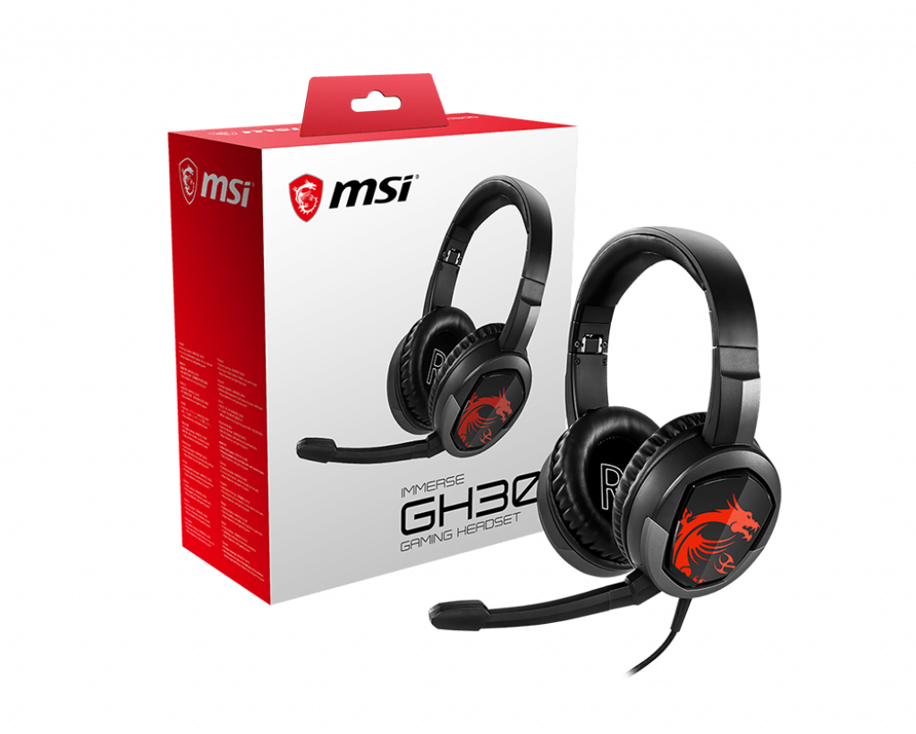 MSI - Headset Gaming MSI IMMERSE GH30