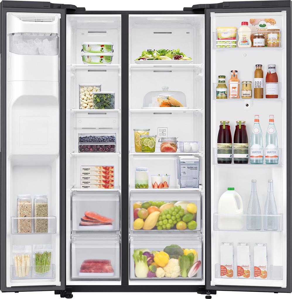Tủ lạnh Samsung side by side RS64T5F01B4/SV 595 lít