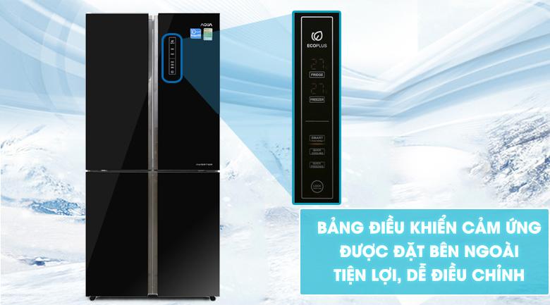 Tủ lạnh Aqua AQR-IG525AM(GB) Inverter 456 lít