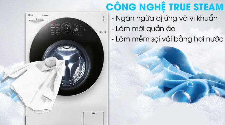 Máy giặt LG FG1405H3W1 Inverter Giặt 10.5 kg - Sấy 7 kg