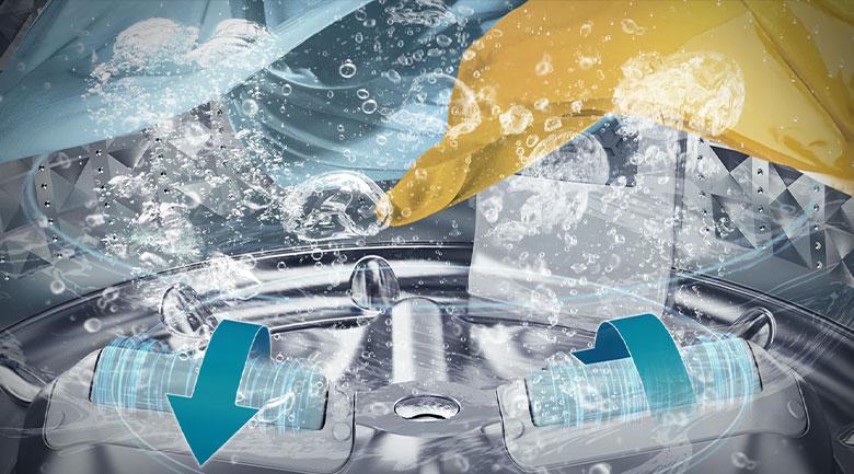 Máy giặt Samsung WA16R6380BV/SV Inverter 16 kg