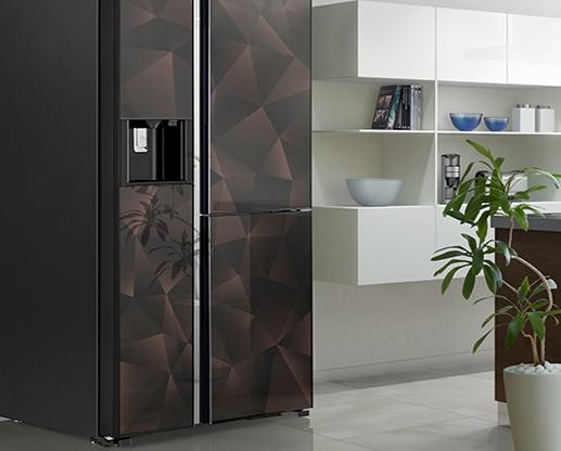 Tủ lạnh Hitachi R-FM800XAGGV9X(GBZ) side by side 3 cửa,say đá, ngăn chân không