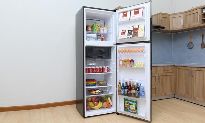 Tủ lạnh Sharp SJ-X346E-SL Inverter 342 lít