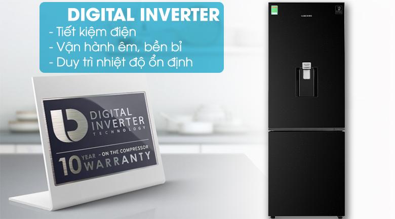 Tủ lạnh Samsung RB30N4170BU/SV Inverter 307 lít