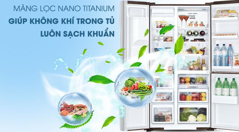 Tủ lạnh Hitachi RM700GPGV2X(MBW) 584L