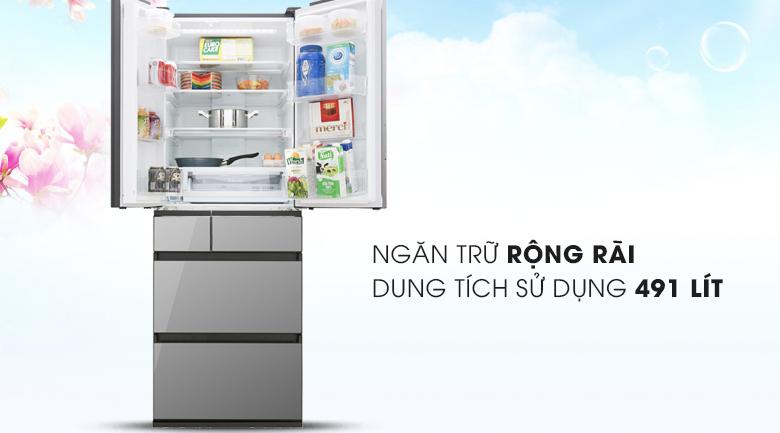 Tủ lạnh Panasonic NR-F503GT-X2 Inverter 491lít