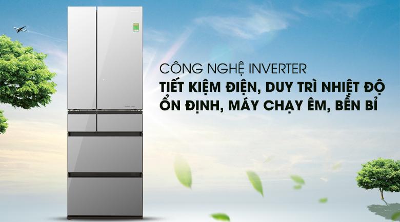 Tủ lạnh Panasonic NR-F603GT-X2 Inverter 589 lít