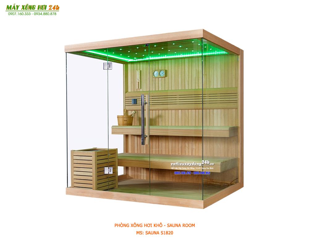 Phòng xông hơi khô Sauna S1820