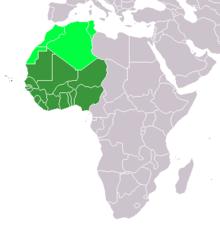 West African States - khu vực Tây Phi
