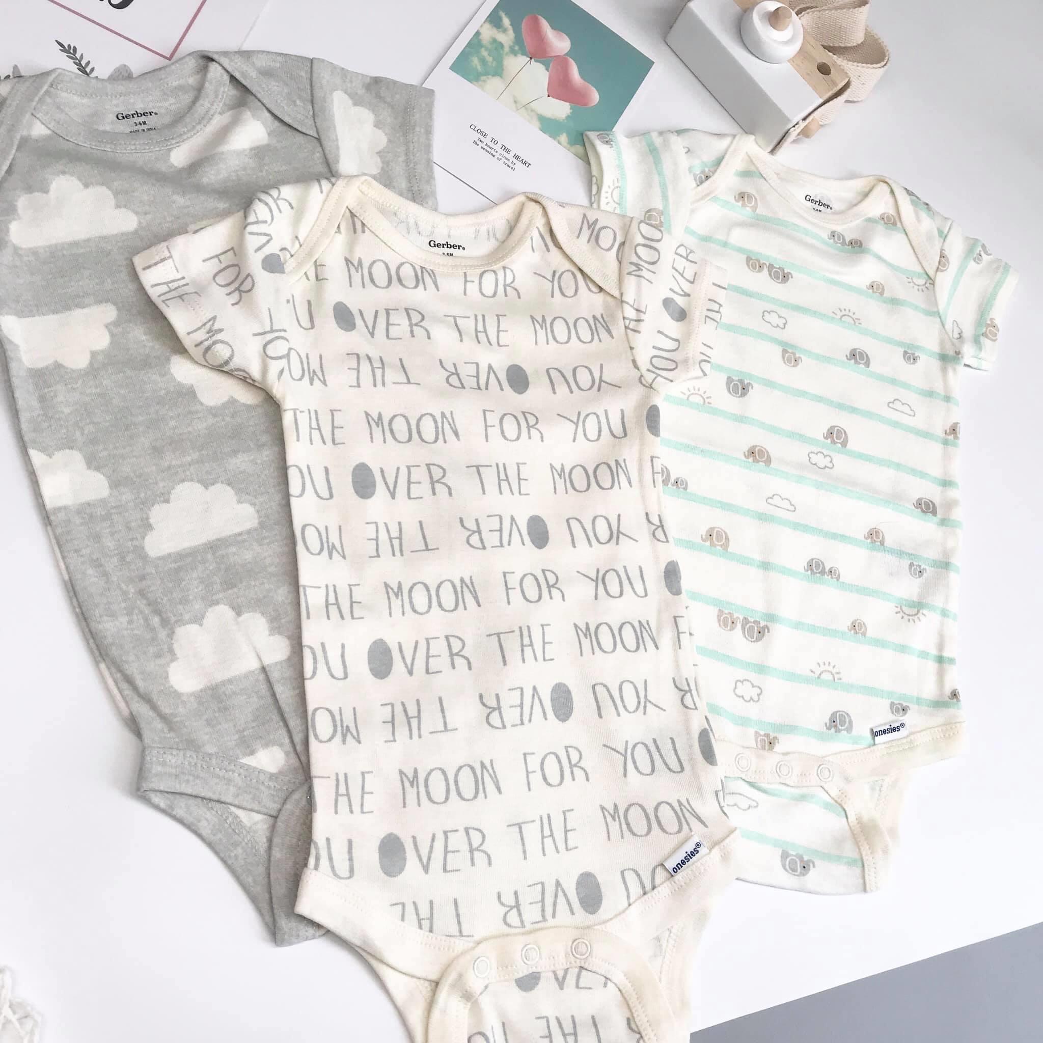 Set 7 Bodysuits Sleeve