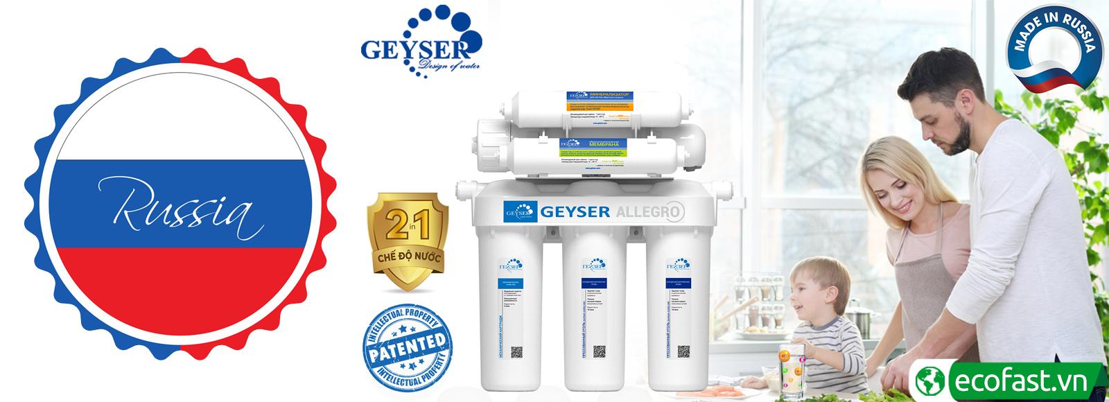 Máy lọc nước RO Geyser
