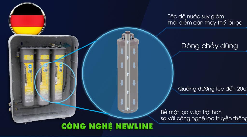 Thay bộ lõi lọc máy lọc nước ion Canxi Aragonite H3