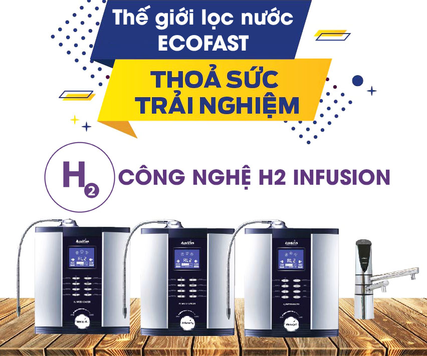 Máy điện giải ion kiềm Alkaviva Athena H2