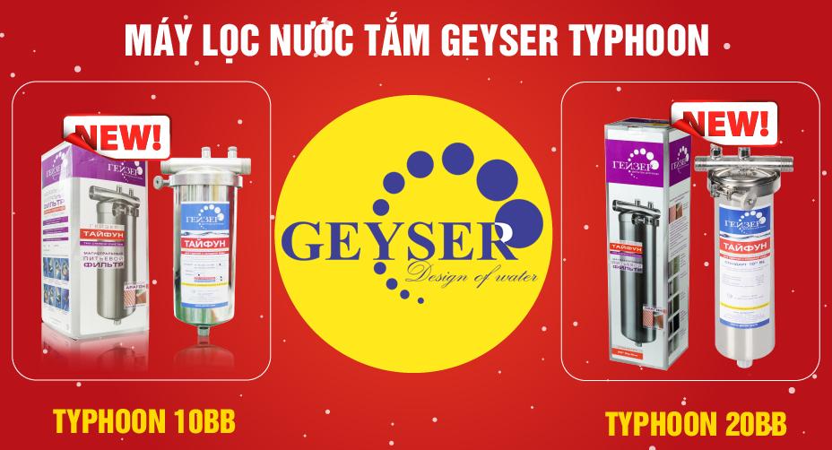 Hệ lọc tổng Geyser Typhoon