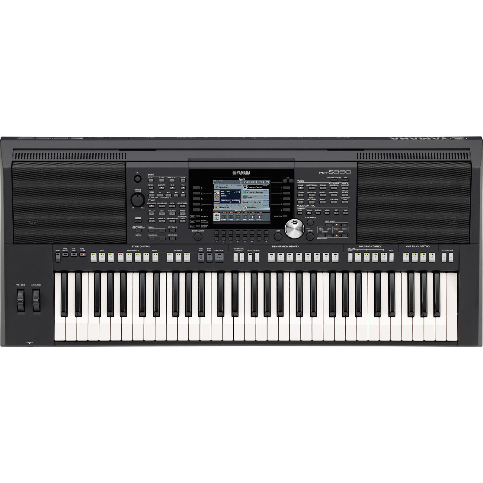 Đàn Organ Yamaha PSR-S950 mới chính hãng