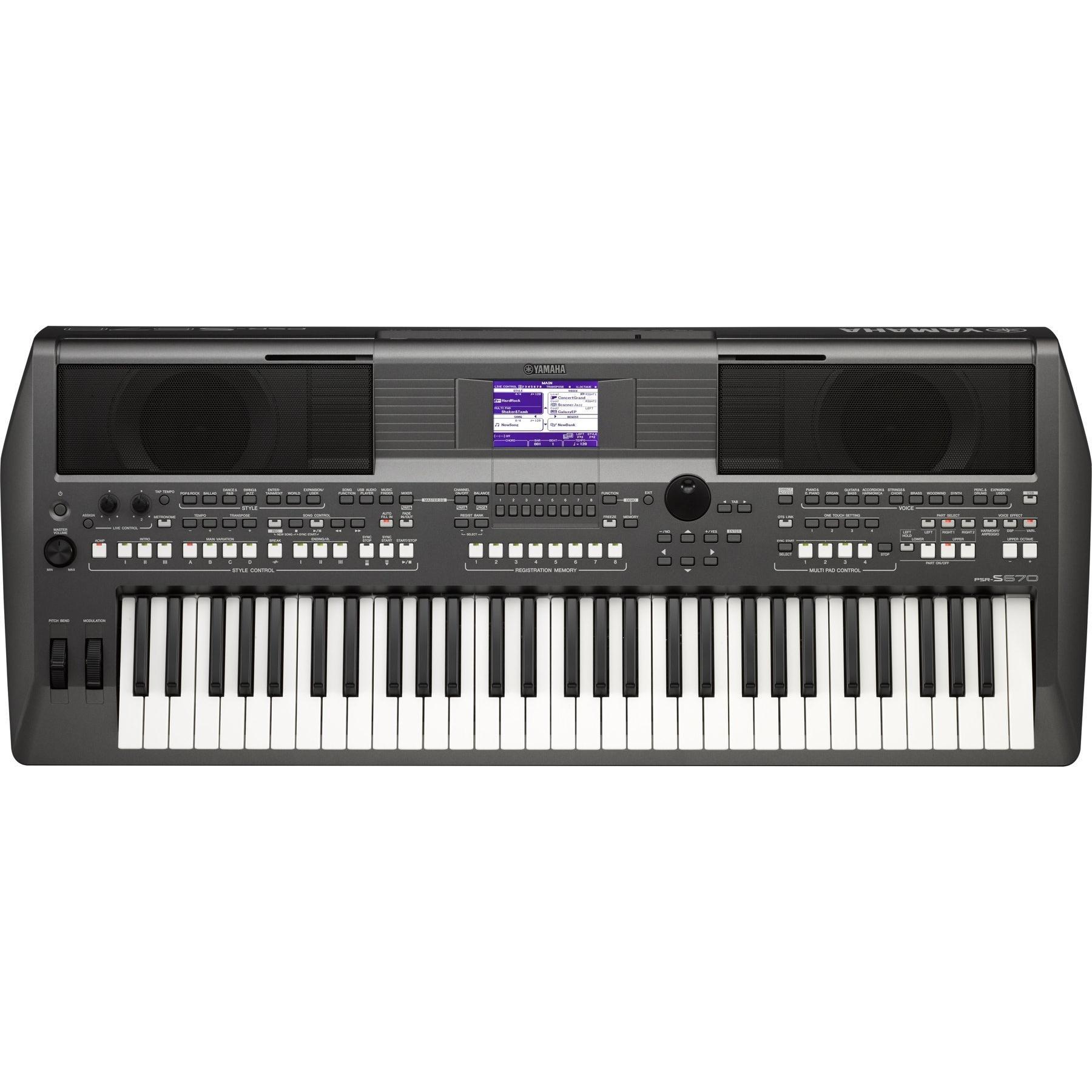 Đàn Organ Yamaha PSR S670 mới chính hãng