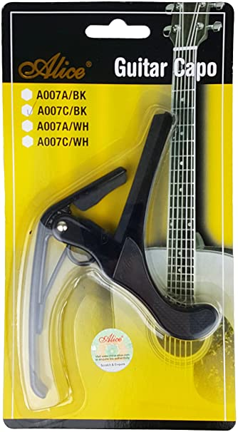 Capo Guitar Alice A007C/BK