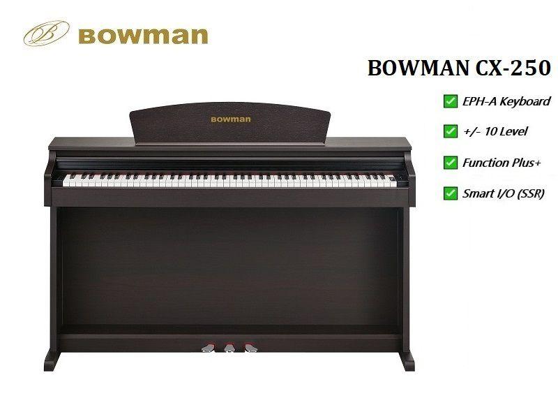Đàn Piano điện mới BOWMAN CX-250