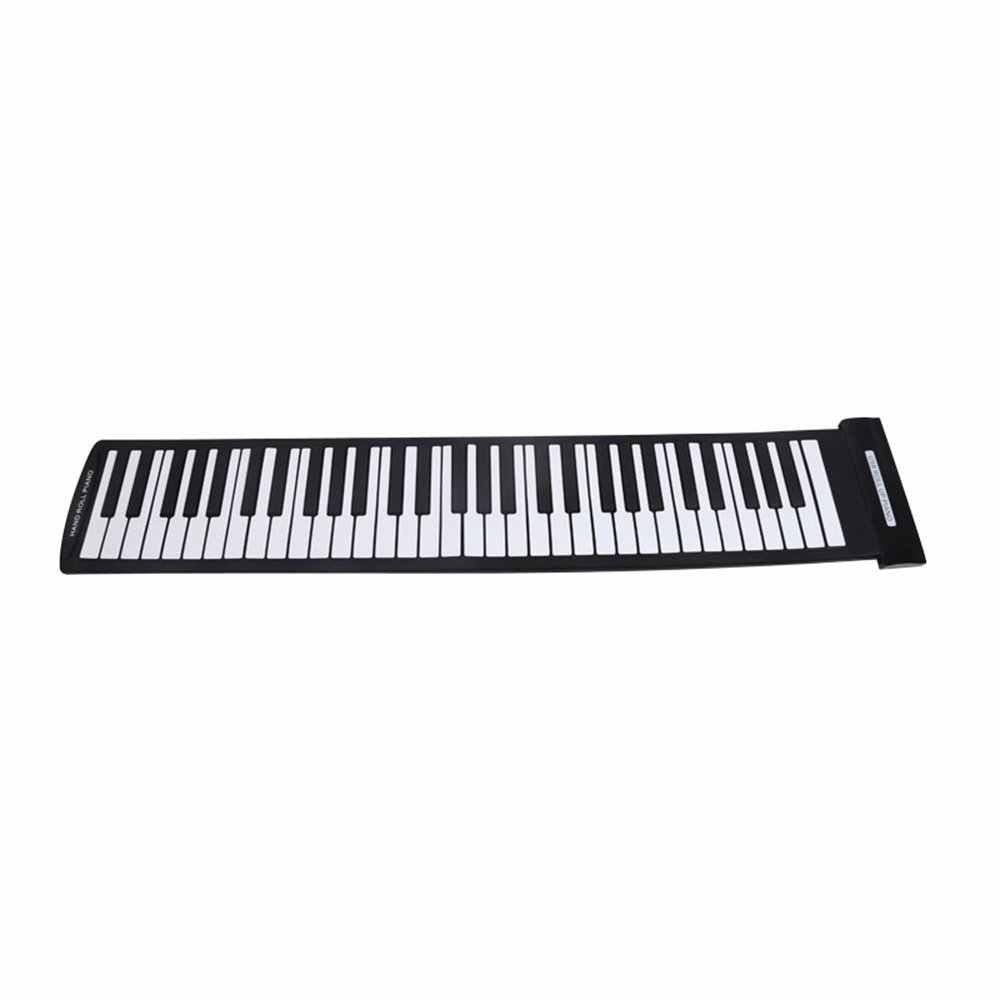 Đàn Piano cuộn 61 phím - USB Silicon Flexible Roll Up Piano