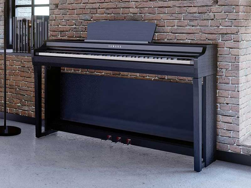 Mới, chính hãng- Đàn Piano điện YAMAHA CLP-725R