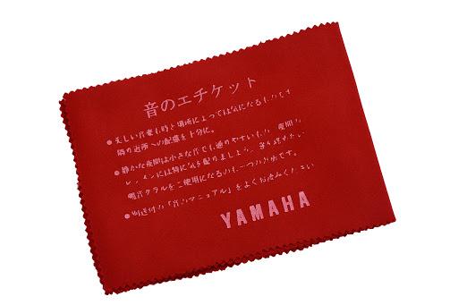 Khăn phủ phím Piano Yamaha đỏ
