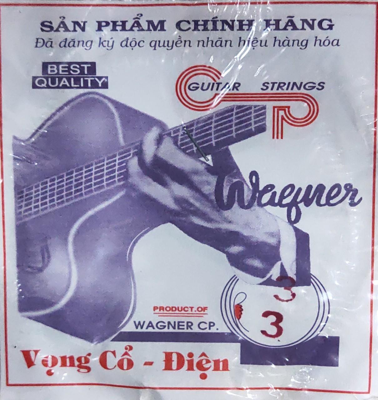 Dây Vọng cổ điện số 3 Wagner
