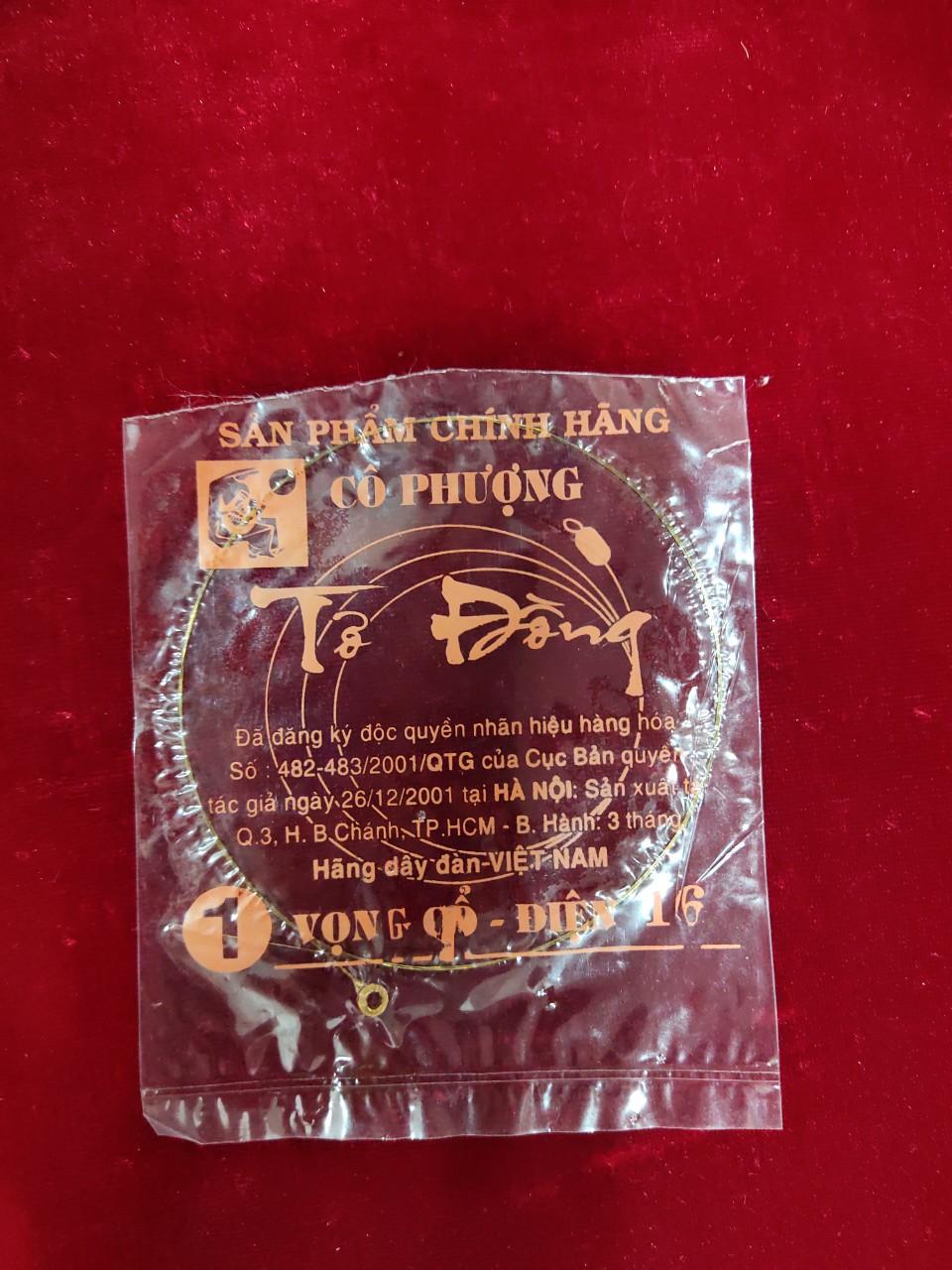 Dây vọng cổ điện số 1 Cô Phượng 17 Tơ Đồng