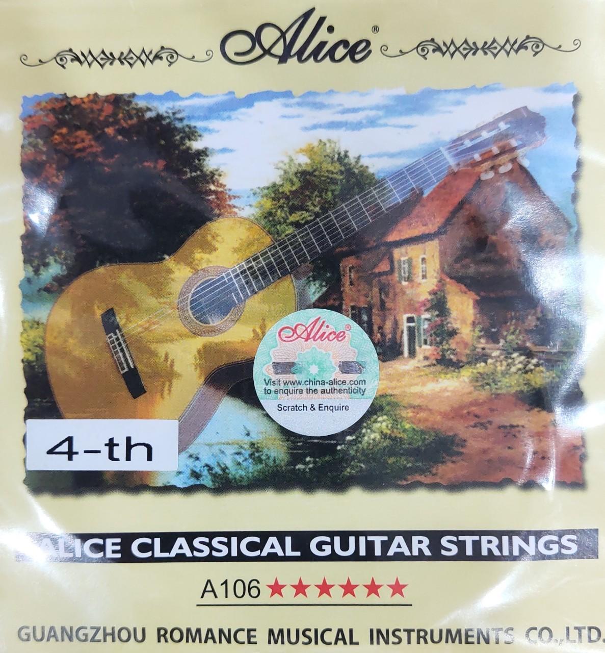Dây Guitar Classic nilon A106