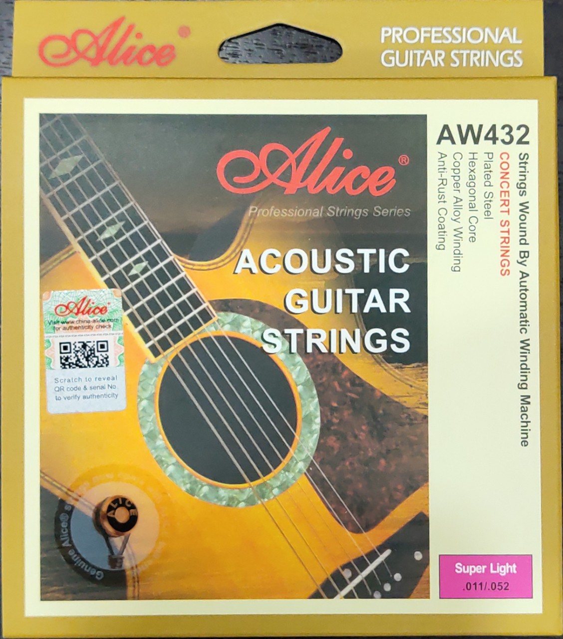 Dây Guitar Acoustic Alice A432
