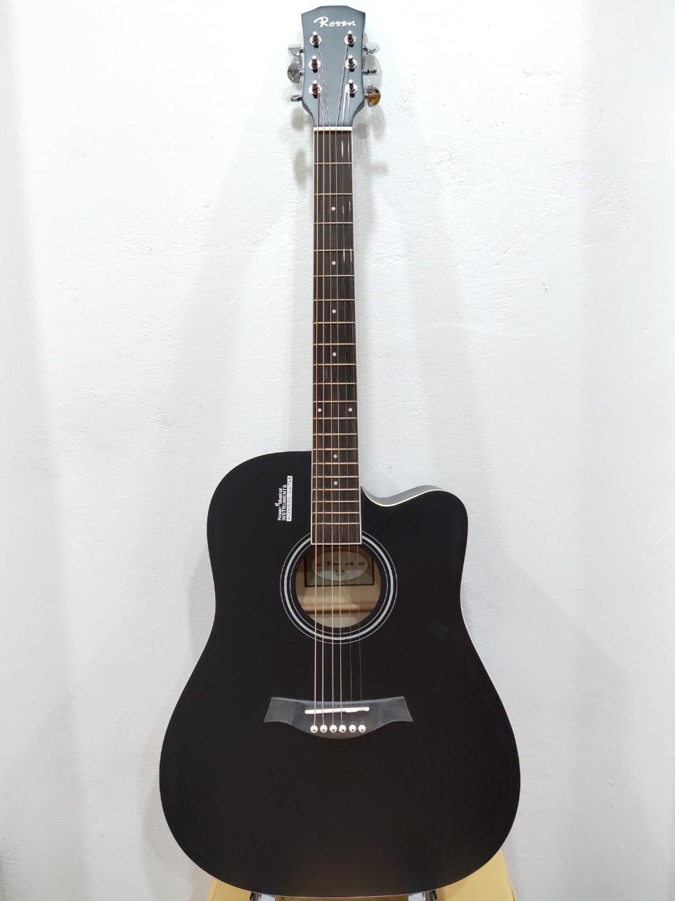 Đàn Guitar Acoustic Rosen R135 đen