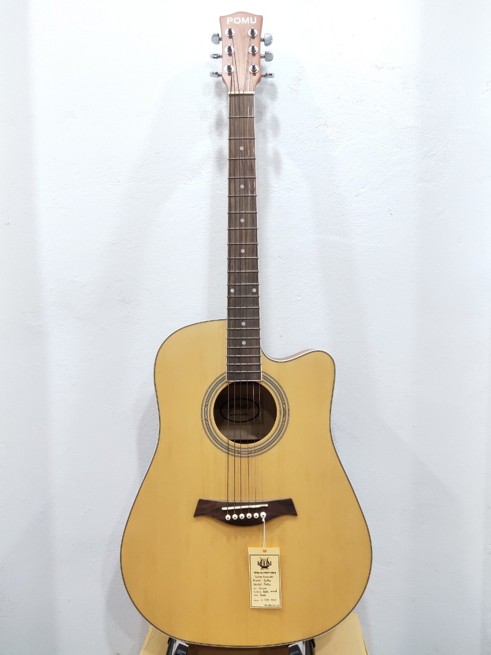 Đàn Guitar Acoustic POMU